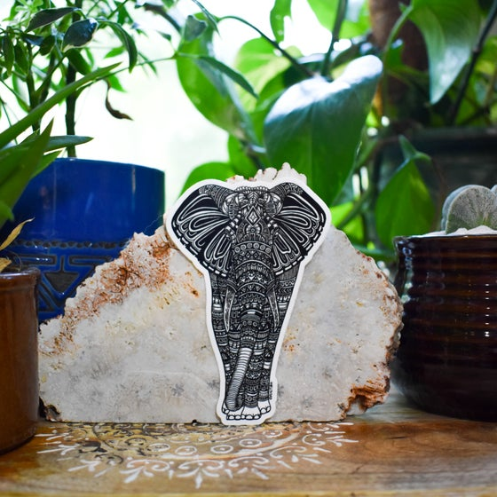Image of Livia the Elephant Sticker