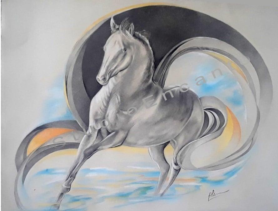 Image of My Stallion by Alejandra Goldberg
