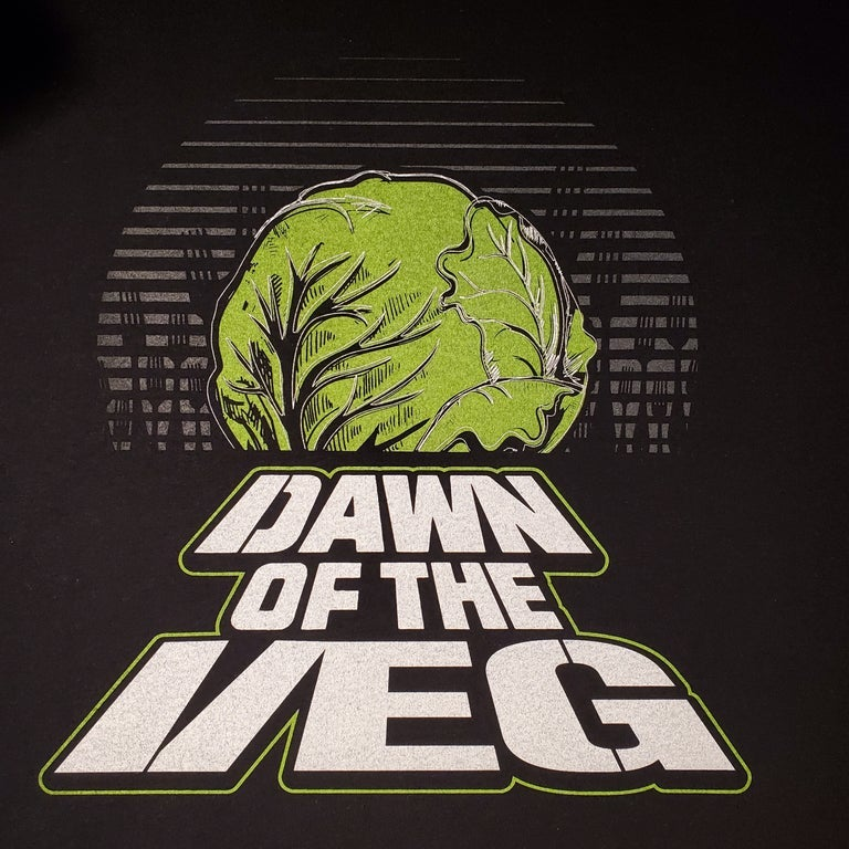 Image of Dawn Of The Veg shirt PGH- This Item Is Pick Up Only