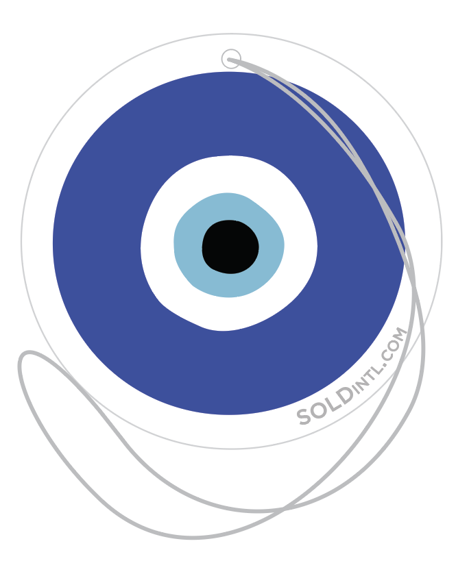 Image of Evil Eye Air Freshener