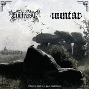"""Image of Evilfeast / Uuntar – Odes to Lands of Past Traditions 12"""" LP"""