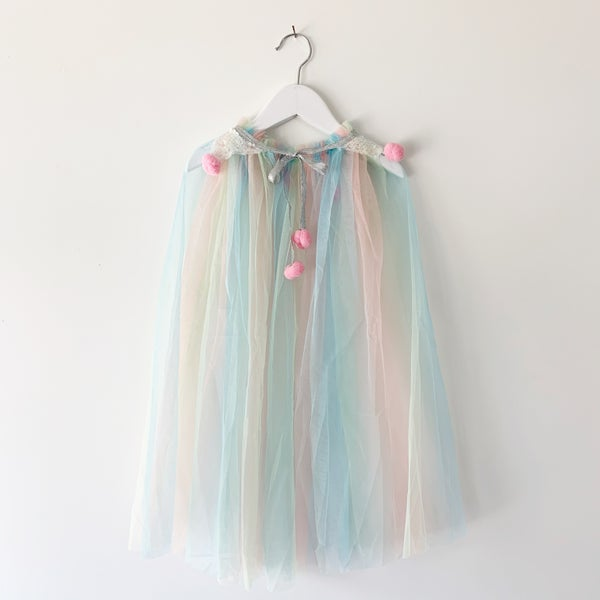 Image of Pastel Rainbow Magic Cape