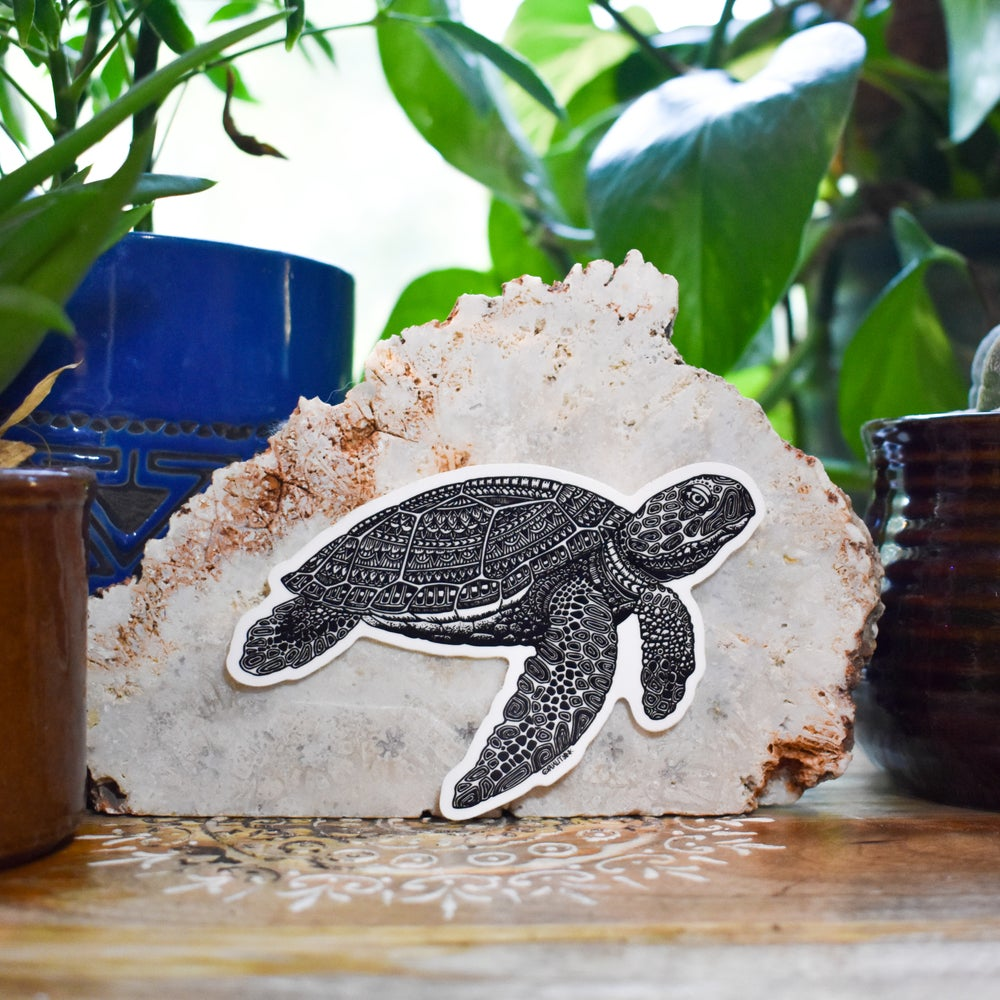 Image of Kauila the Turtle Sticker