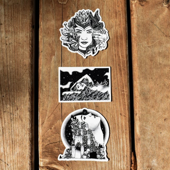 Image of Nature Goddess Sticker Pack