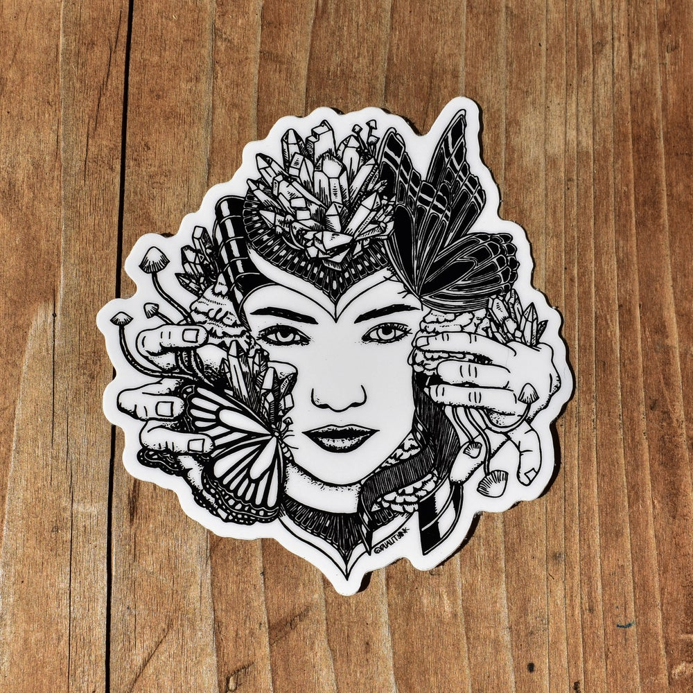 Image of Nature Goddess Sticker Pack
