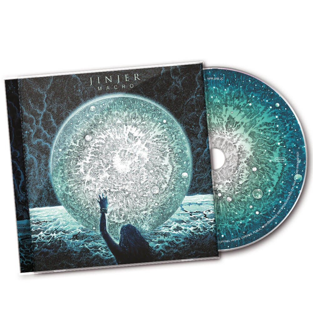 Image of CD (UNSIGNED) - Jinjer 'Macro'