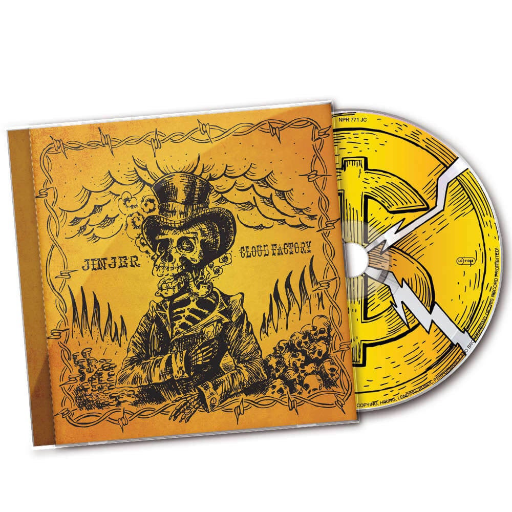 Image of CD (UNSIGNED) - Jinjer 'Cloud Factory'