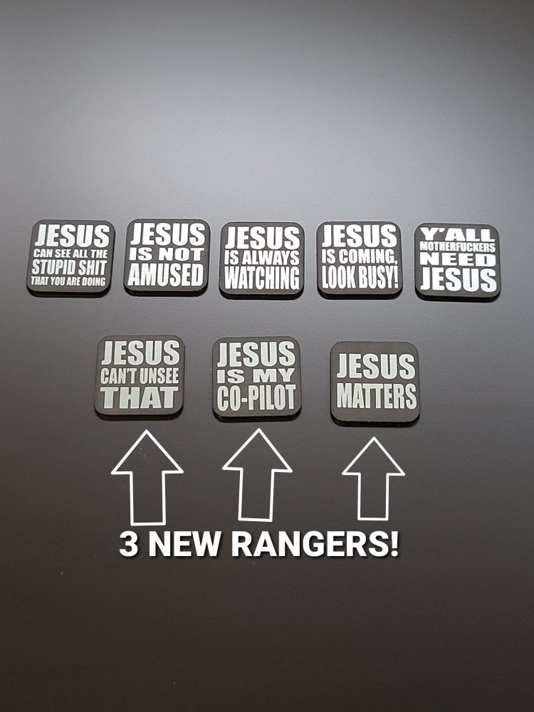 Image of JESUS Rangers (USE DROP DOWN MENU FOR PURCHASING OPTIONS)