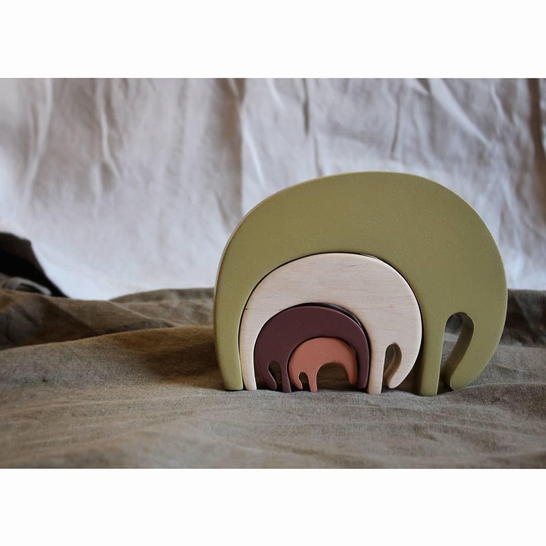 Image of Elephant puzzle Forest
