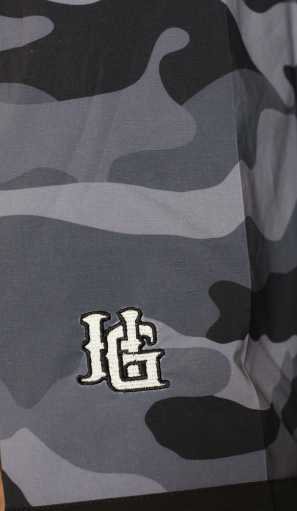 Image of New Navy City Camo Water Proof Big and Tall Board Short