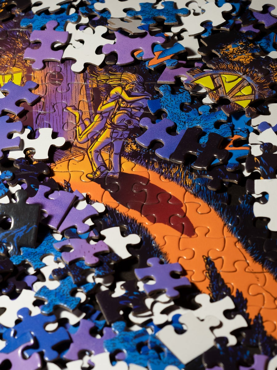 Image of The Long And Winding Road - Jigsaw Puzzle