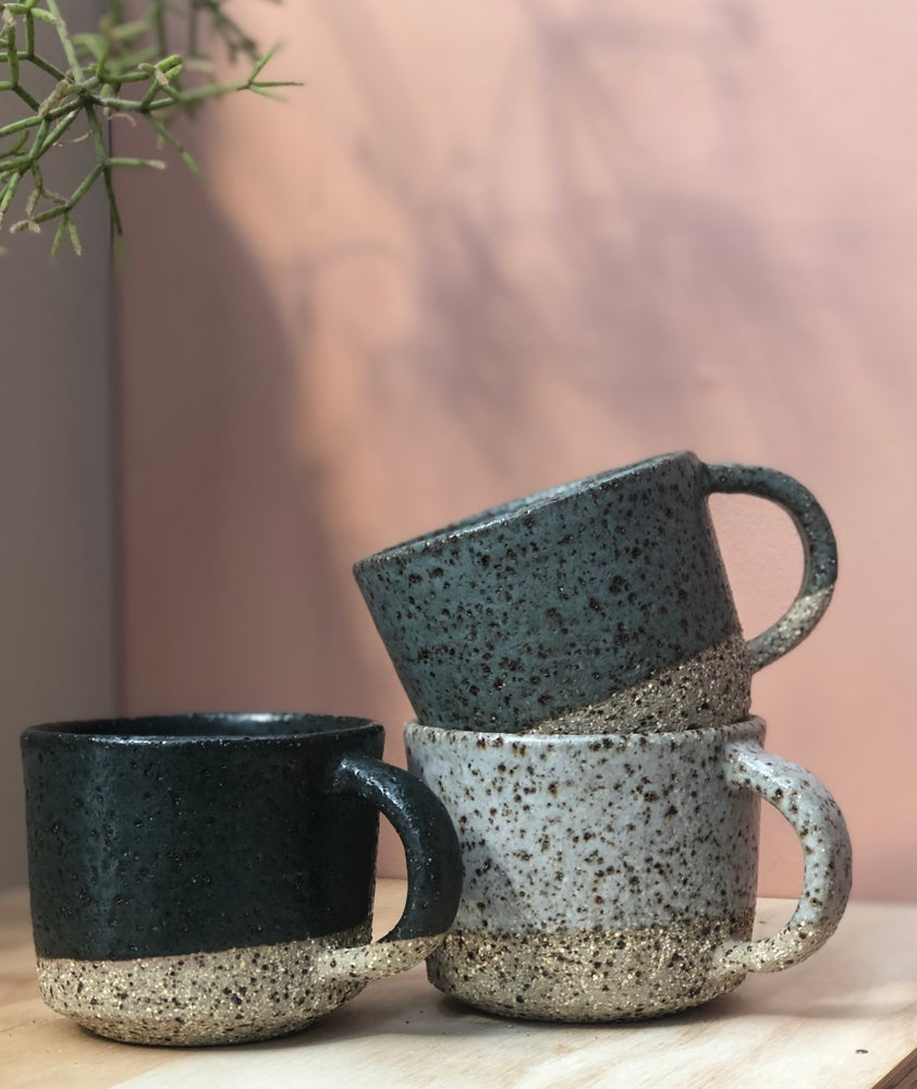 Image of Straight teacups Granite, Bluestone & Slate