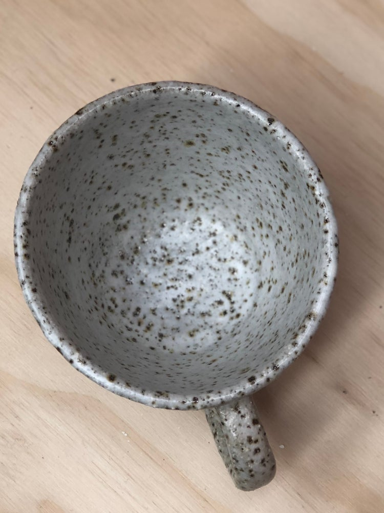Image of Stripe flare teacups