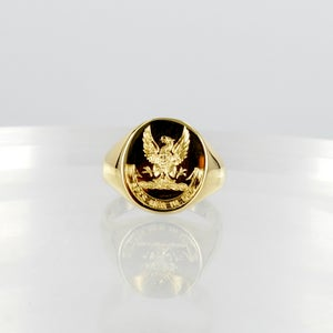 Image of 18ct yellow gold Signet ring