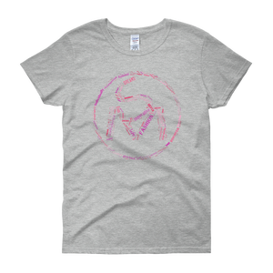 Image of Ladies SM Pink Word Art Tee