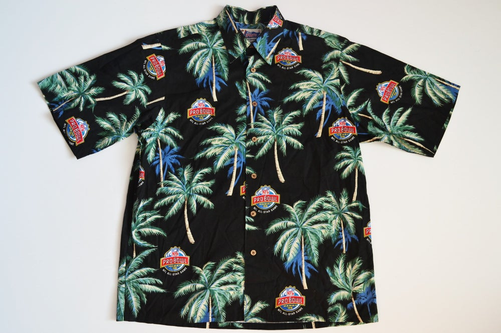 Image of 2005 Reyn Spooner NFL Pro Bowl Hawaii Aloha Button Up Shirt Sz.M