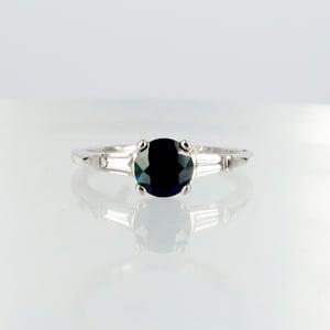 Image of Sapphire & Diamond dress ring