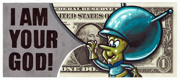 Image of Real Dollar Original. Truther.