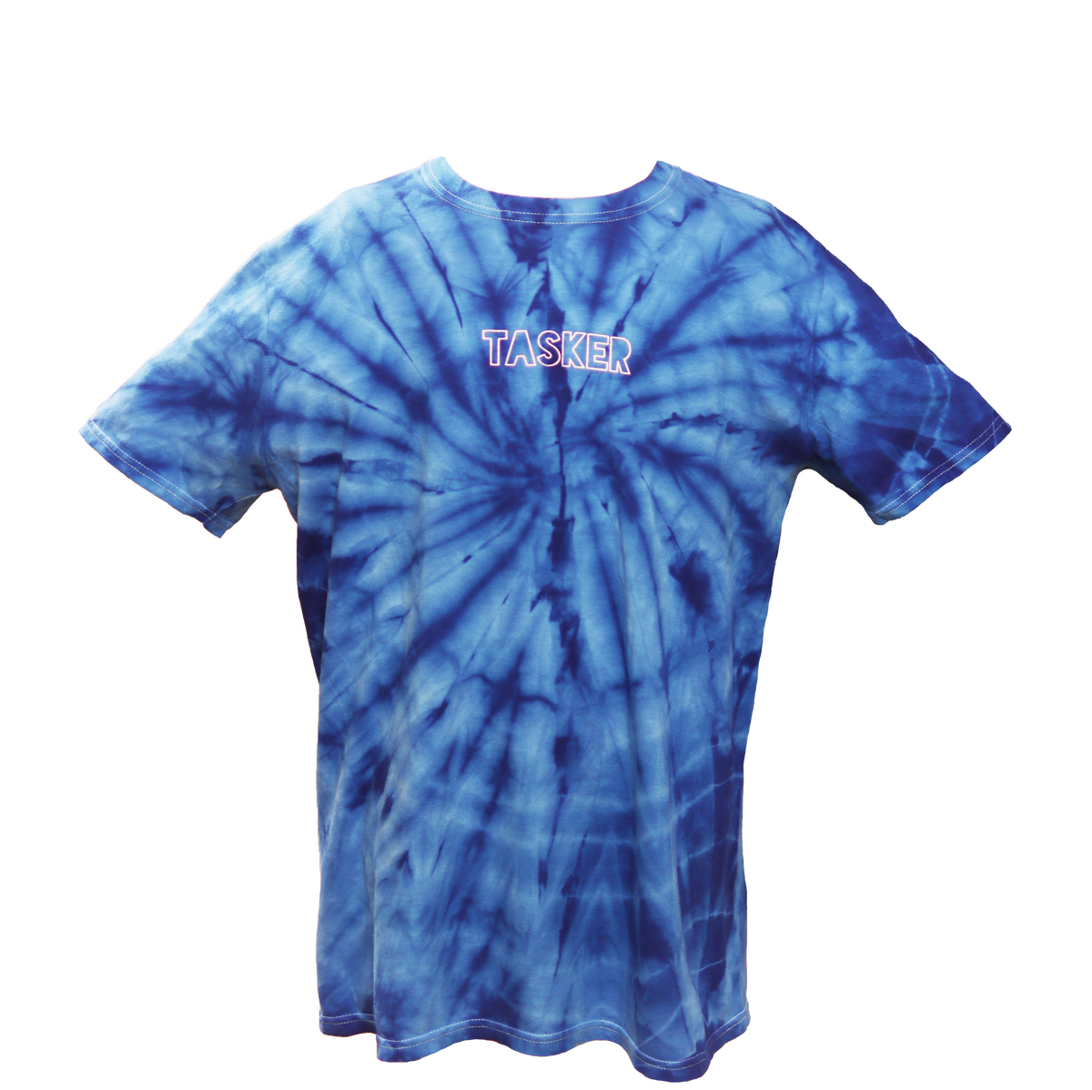Image of Blue Tie Dye T-Shirt