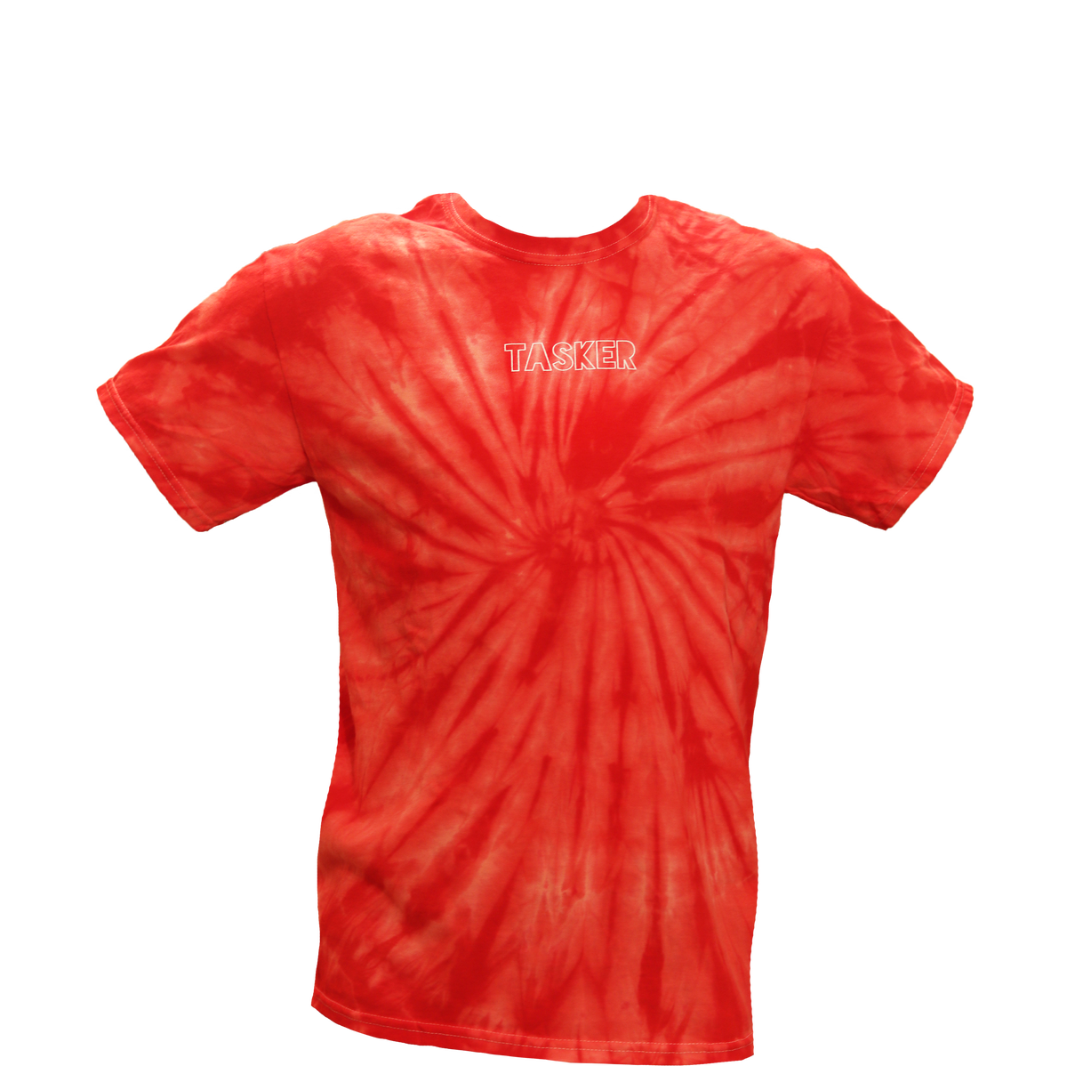 Image of Red Tie Dye T-Shirt