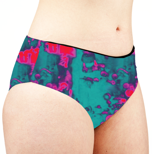 Image of Acid Low Rise Cheeky Shorts