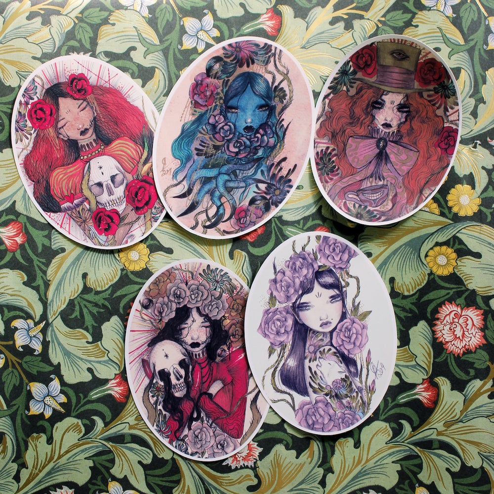 Image of Pack of 5 stickers