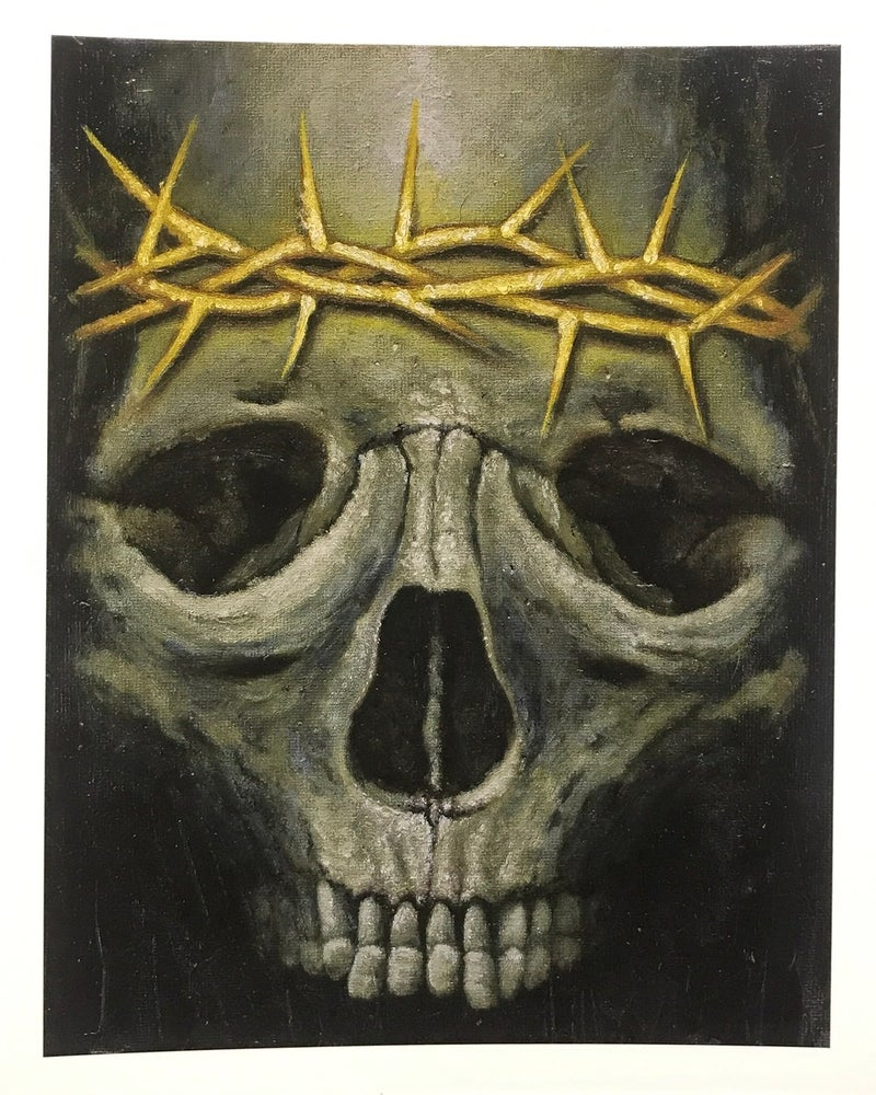 Image of Crown The King of Suffering giclee print
