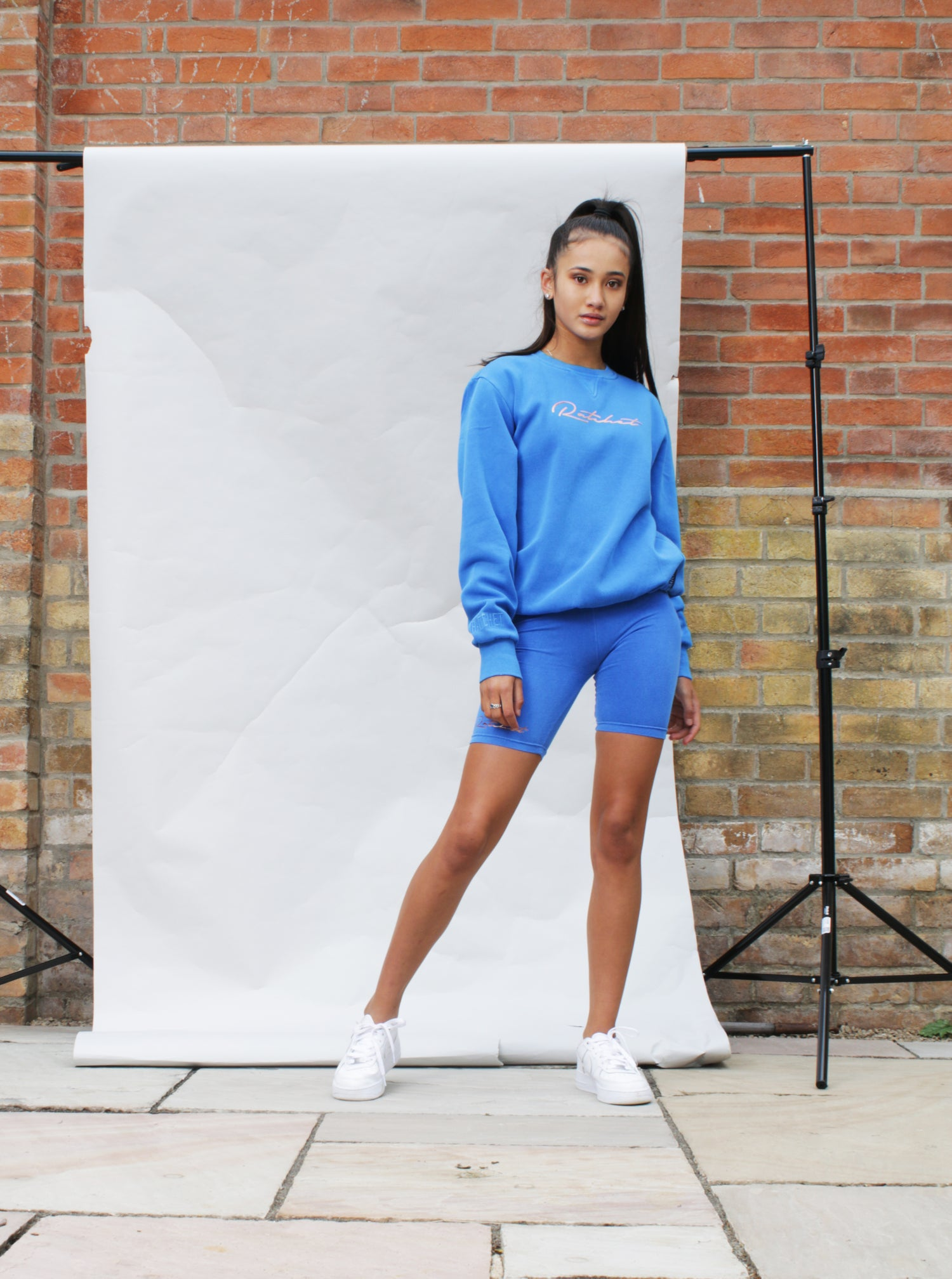 Image of Royal Blue (colour of the year) Cycling Short Coord set.
