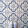 Medina Tile Stencil for Floors, Tiles and Walls -Furniture and Fabric Stencil - Moroccan Stencil
