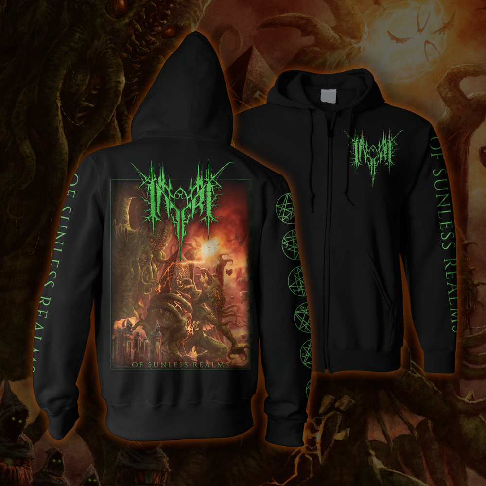 Image of INFERI - Of Sunless Realms - Hoodie