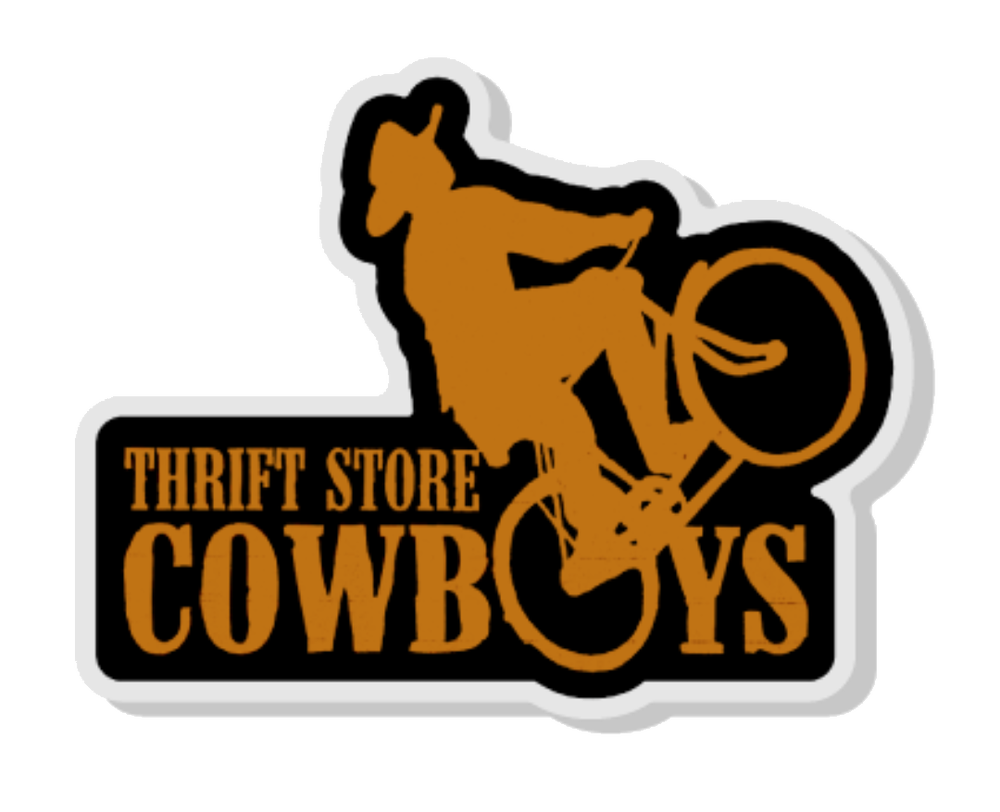 Image of Cowboy Bike Pin