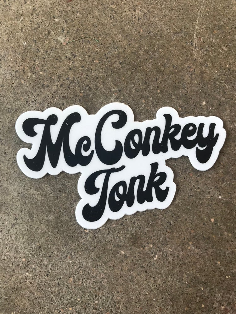 Image of McConkey Tonk Sticker