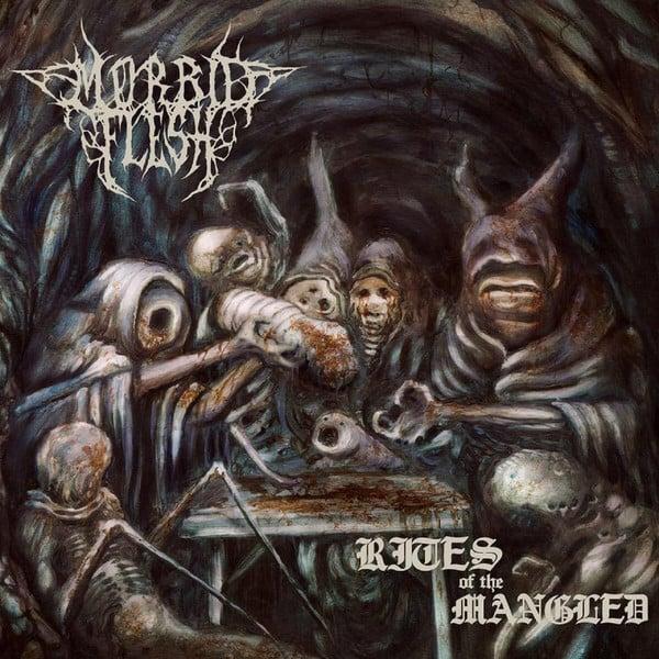 Image of MORBID FLESH - Rites Of The Mangled LP