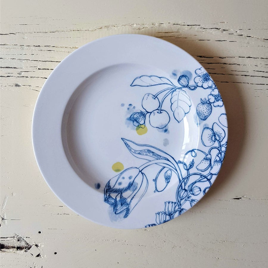 """Image of Blue Summer Chop Plate """"A"""""""