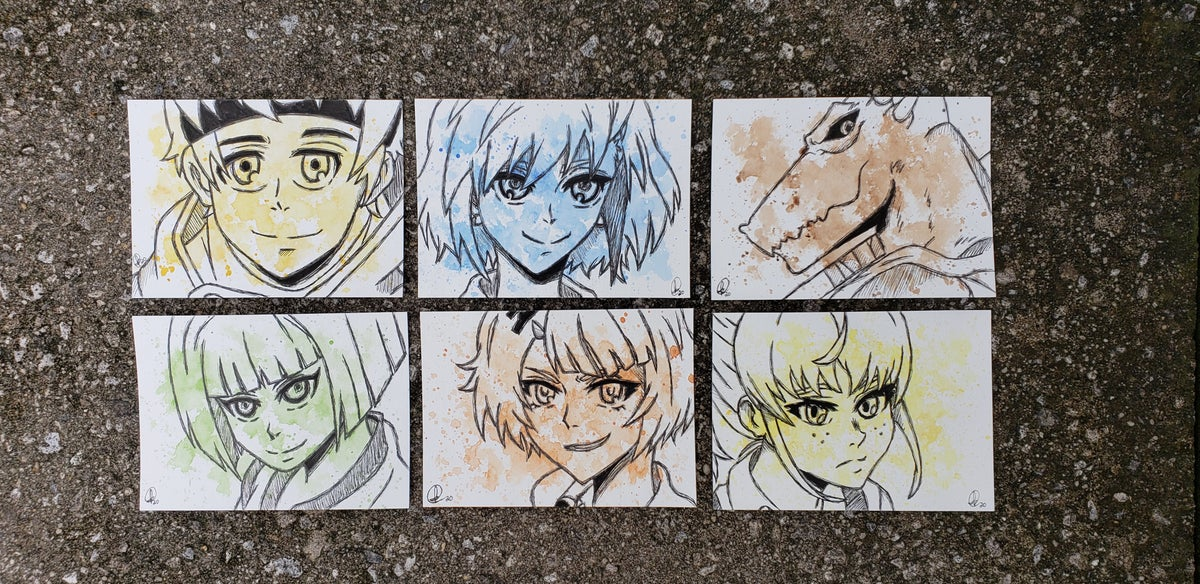 Image of Tower of God Character Set 1