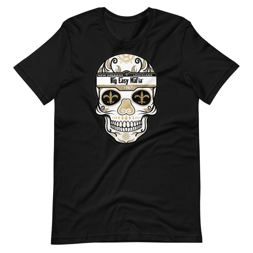 Image of Big Easy Mafia Saints Skull Design