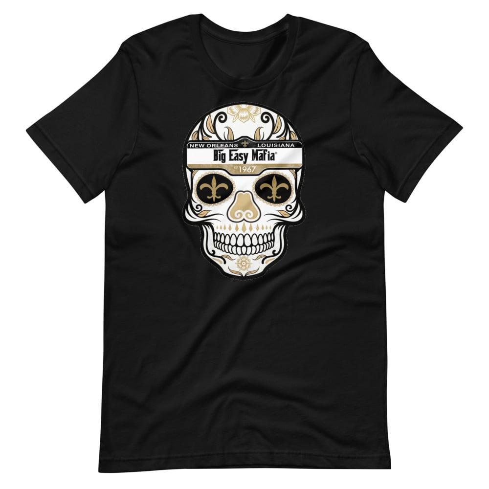 Image of Big Easy Mafia Saints Skull Design