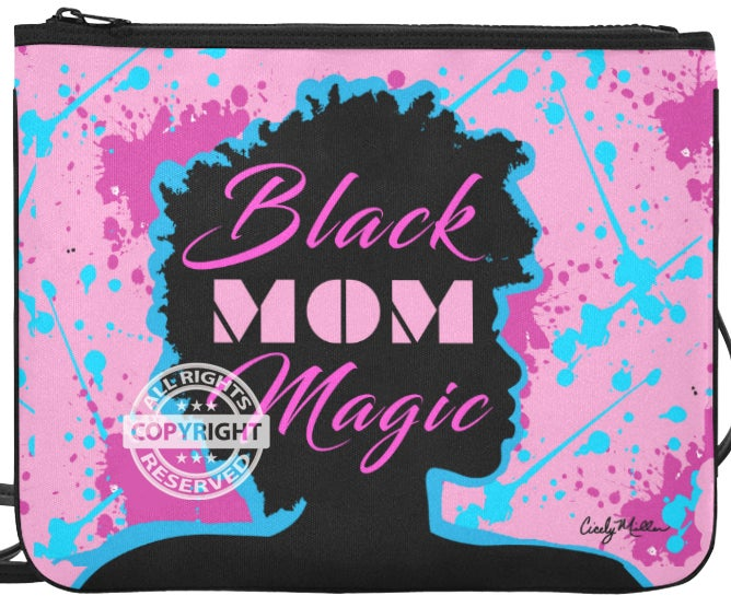 Image of Black Mom Magic Crossbody