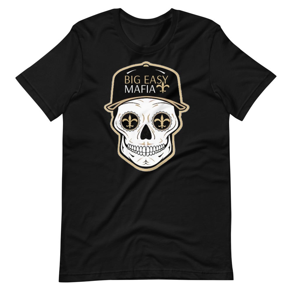 Image of Big Easy Mafia Saints Skull W/ Hat