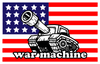 War Machine Blue T shirt