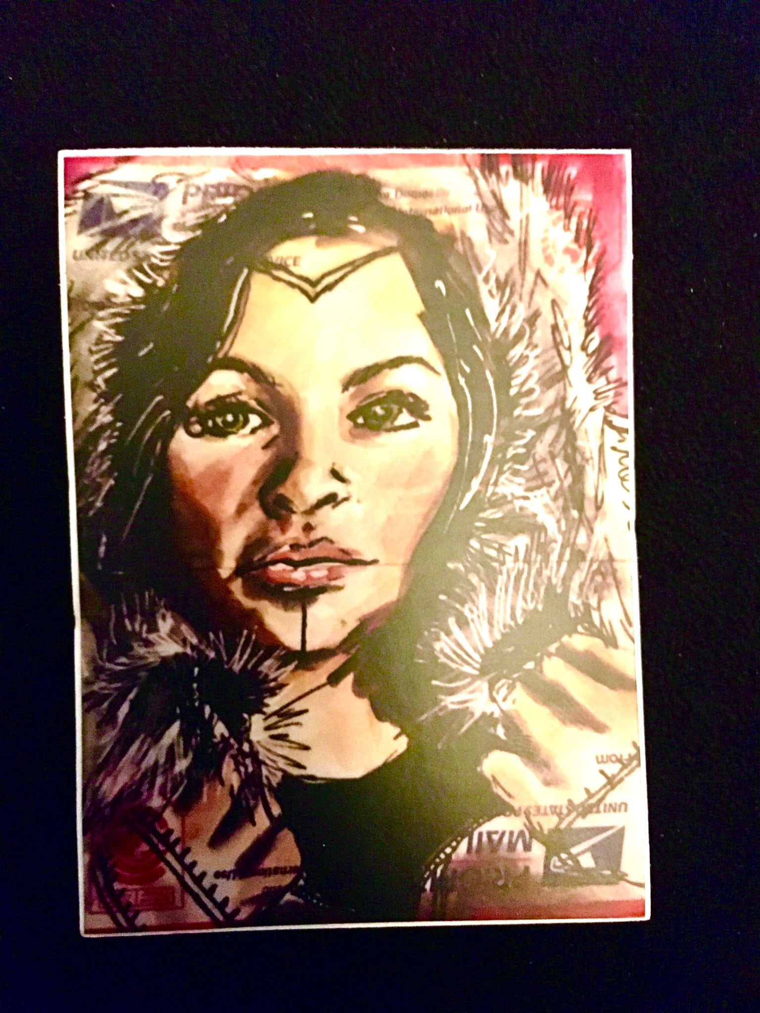 Image of Inuit Woman sticker - (Limited)