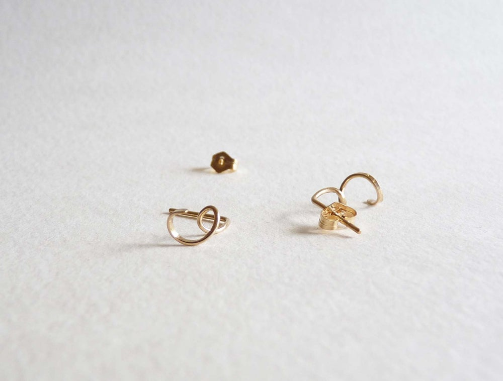 Image of Coil earrings