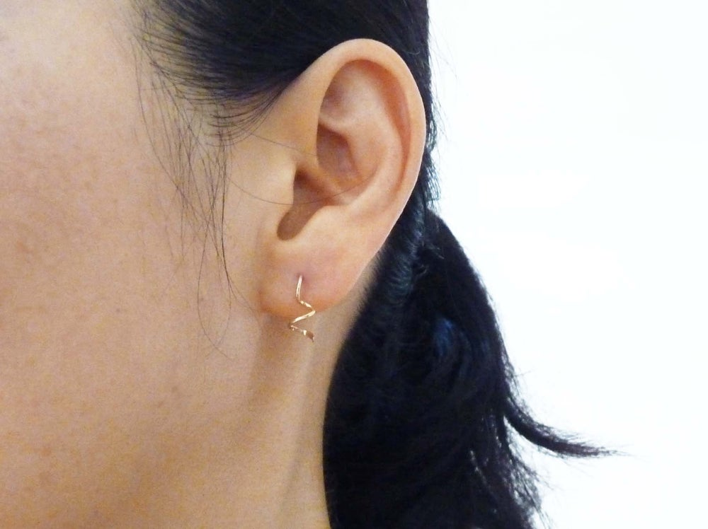 Image of Coil earrings
