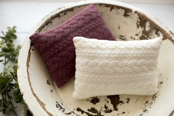 Image of Braided Pillow
