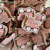 This Charming Mum - Wooden Pin Badge