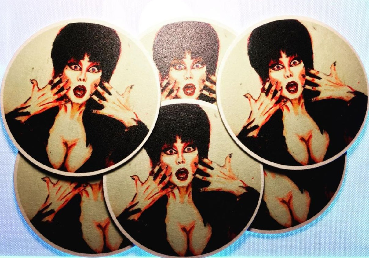 Image of Elvira - Coasters
