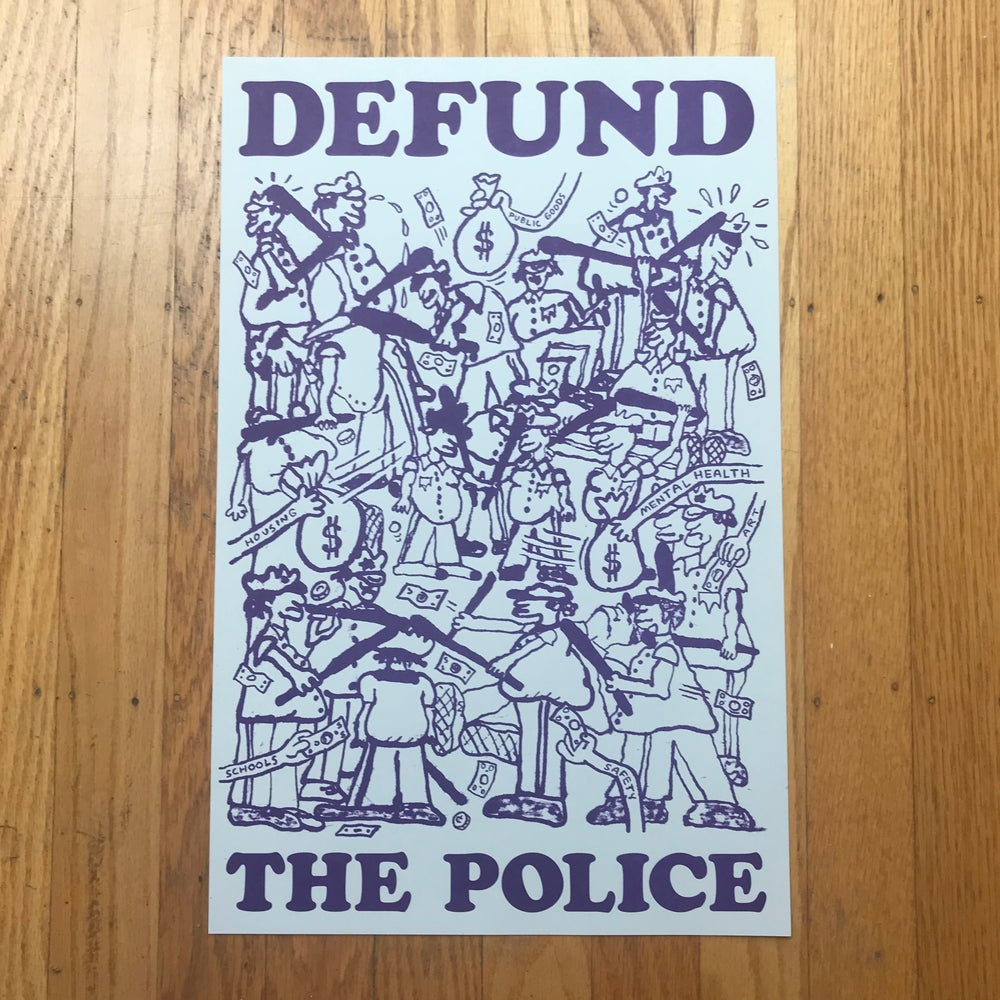 """Image of """"Defund The Police"""" Poster – FREE!!!"""