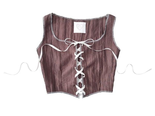 Image of Chocolate corset