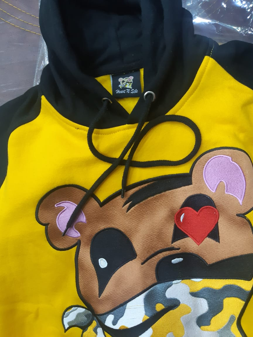 Heart N Sole University Gold Hoodie