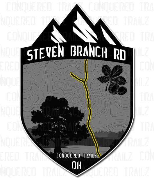 "Image of ""Steven Branch Rd"" Trail Badge"